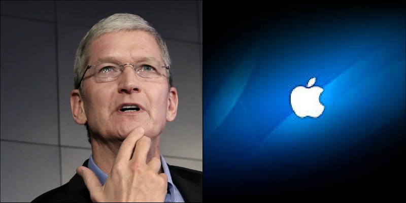 """US President Donald Trump absent-mindedly has addressed Tim cook as """"Tim Apple"""" at a conference, The Apple CEO later changed his twitter name to """"Tim Apple"""" replacing surname with company logo"""