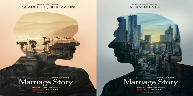 Check out Scarlett Johansson and Adam Driver In Marriage Story
