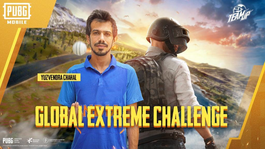 Yuzvendra Chahal and Ujjwal Gamer Team Up For PubG M India